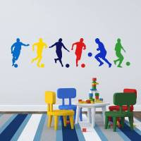 football boys wall stickers by mirrorin
