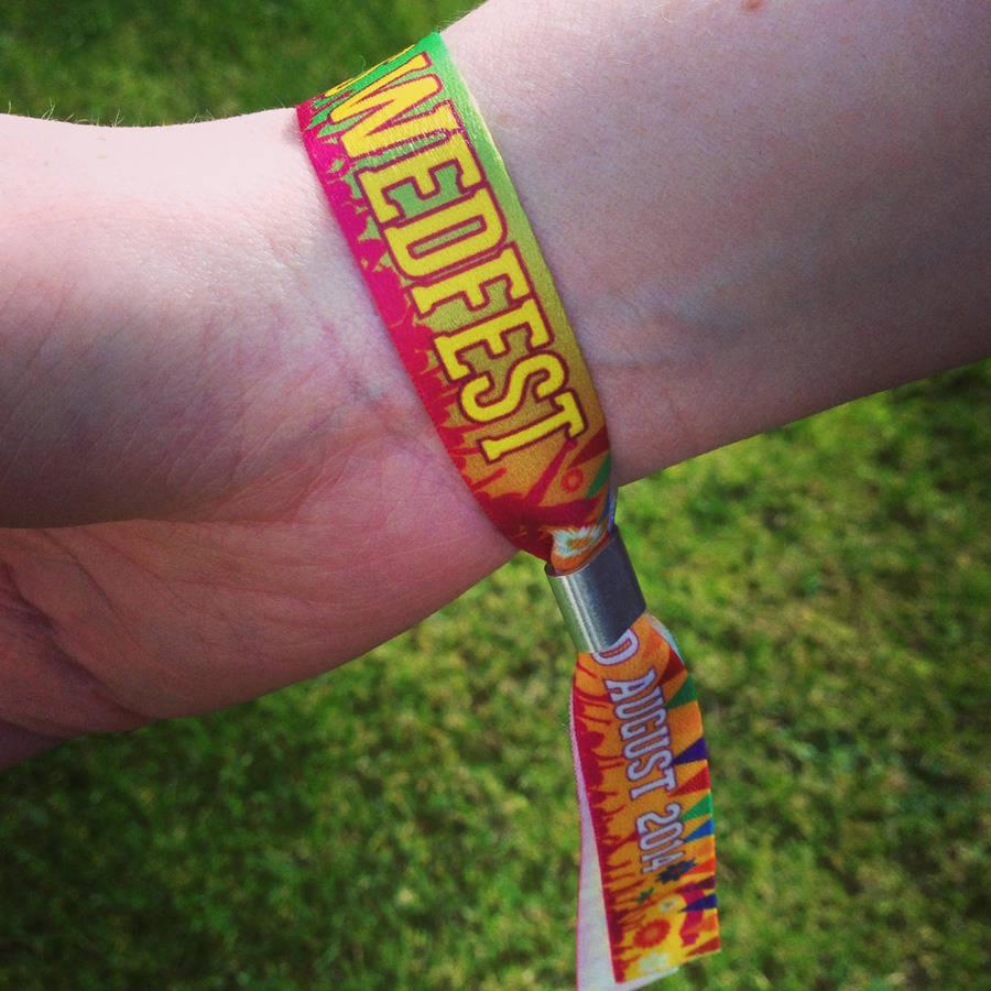 Festival Wedding Wristbands By Wedfest