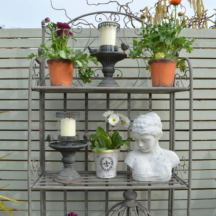 Garden Etagere By Miafleur  Notonthehighstreetcom