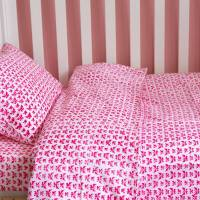 butterfly toddler cot bed duvet set by lulu and nat