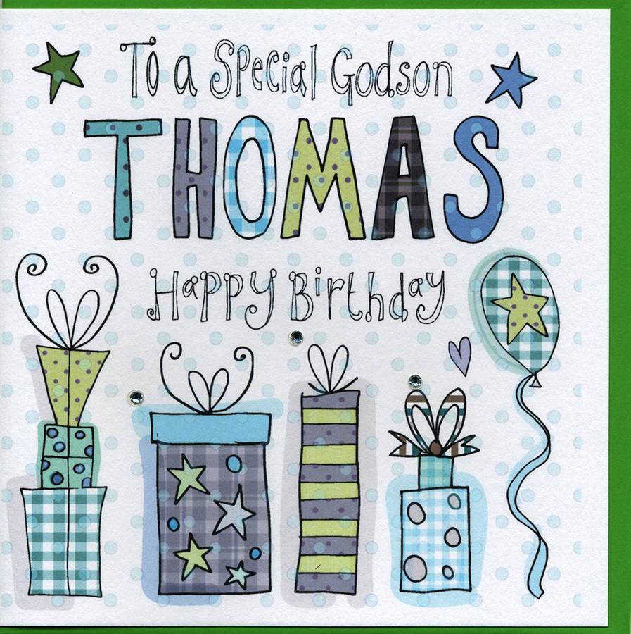 90 Godson Birthday Cards Designer Greetings Rocking