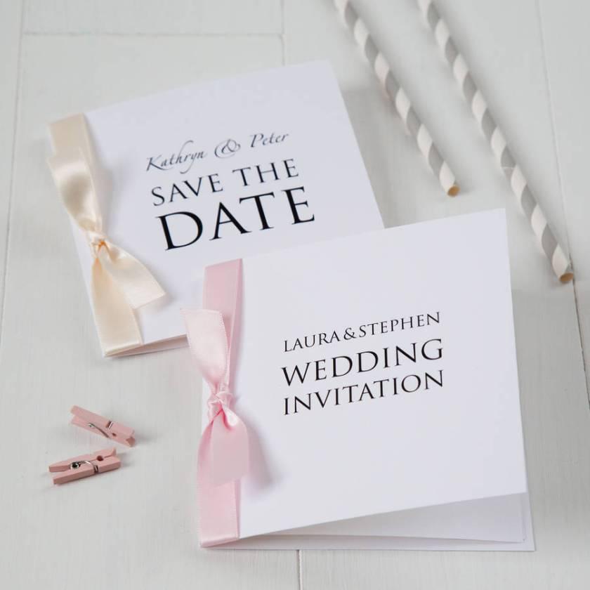 Personalised Wedding Invitation