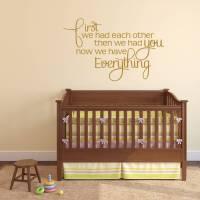 babys nursery wall sticker by mirrorin ...