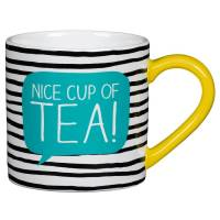 nice cup of tea mug by doodlebugz | notonthehighstreet.com