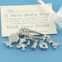 new baby boy gift charms for christening gifts by multiply ...