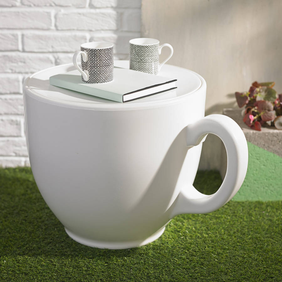 tea cup stool by the form emporium  notonthehighstreetcom