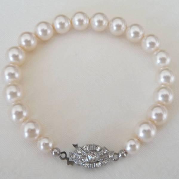 Vintage Single String Pearl Bracelet Katherine Swaine