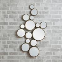'funky' circles mirror by decorative mirrors online ...