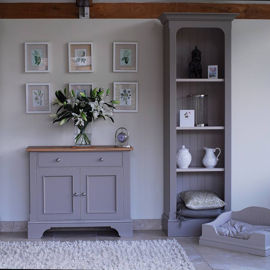 slimline bookcase in a choice of colours and widths by