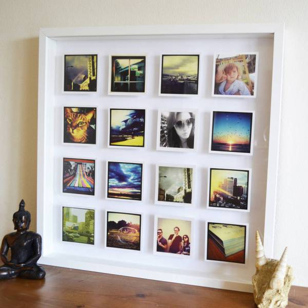 Personalised 3d Box Framed Print Instajunction