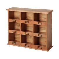 storage cubby unit by within home | notonthehighstreet.com
