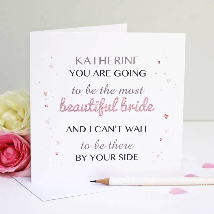 Personalised Wedding Cards Notonthehighstreet