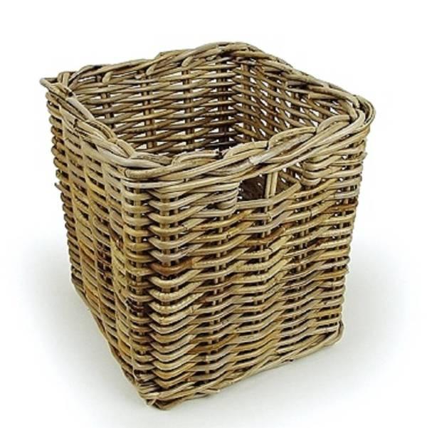 Square Wicker Storage Baskets