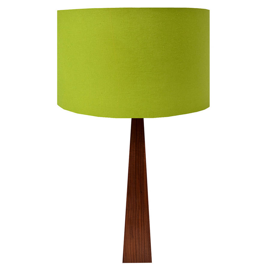 lime green table lamp by hunkydory home