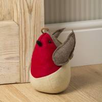 christmas robin door stop by the christmas home ...
