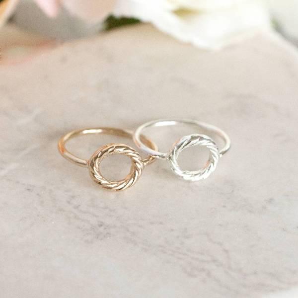 Circle Karma Ring Junk Jewels