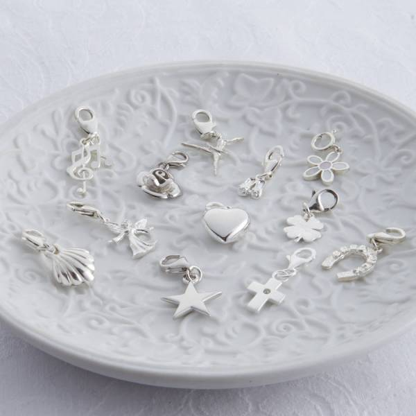 Childrens Sterling Silver Clip Charms Hurleyburley