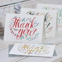 thank you cards by oakdene designs   notonthehighstreet.com