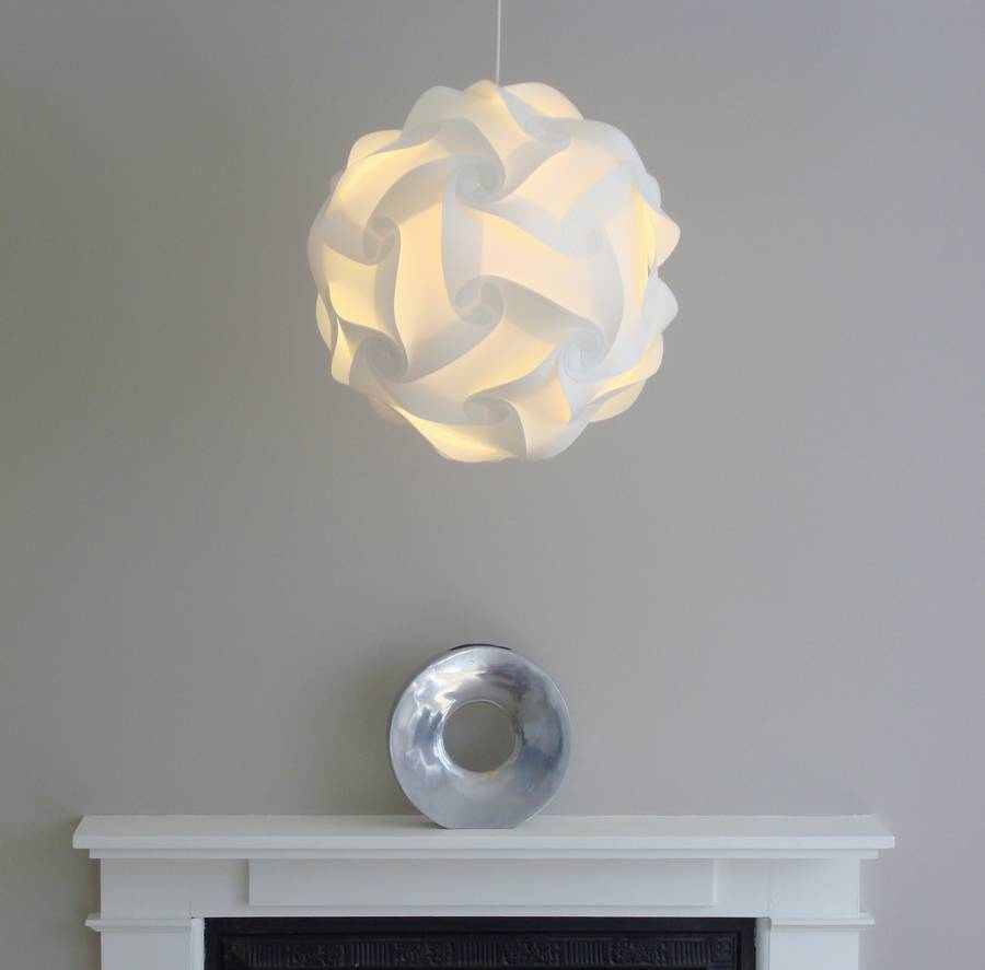 smarty lamps cosmo geometric ball light shade by smart