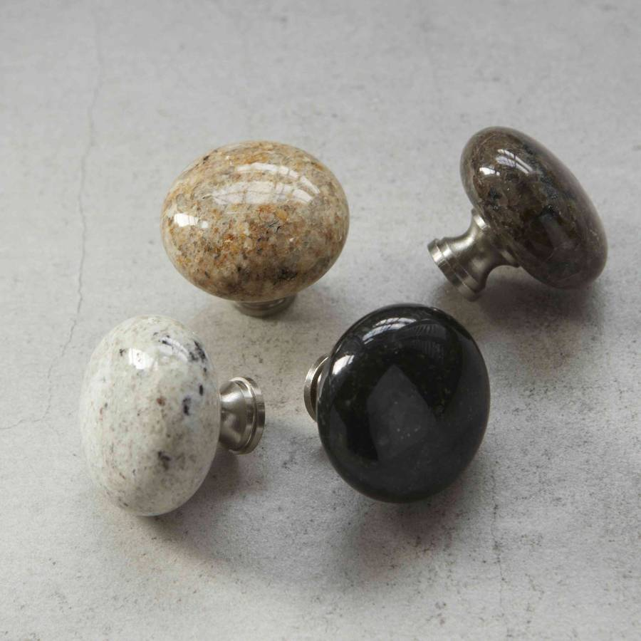 kitchen cabinets door handles art prints granite natural stone cupboard knobs by pushka home