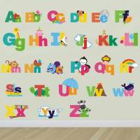 picture alphabet wall stickers by mirrorin ...