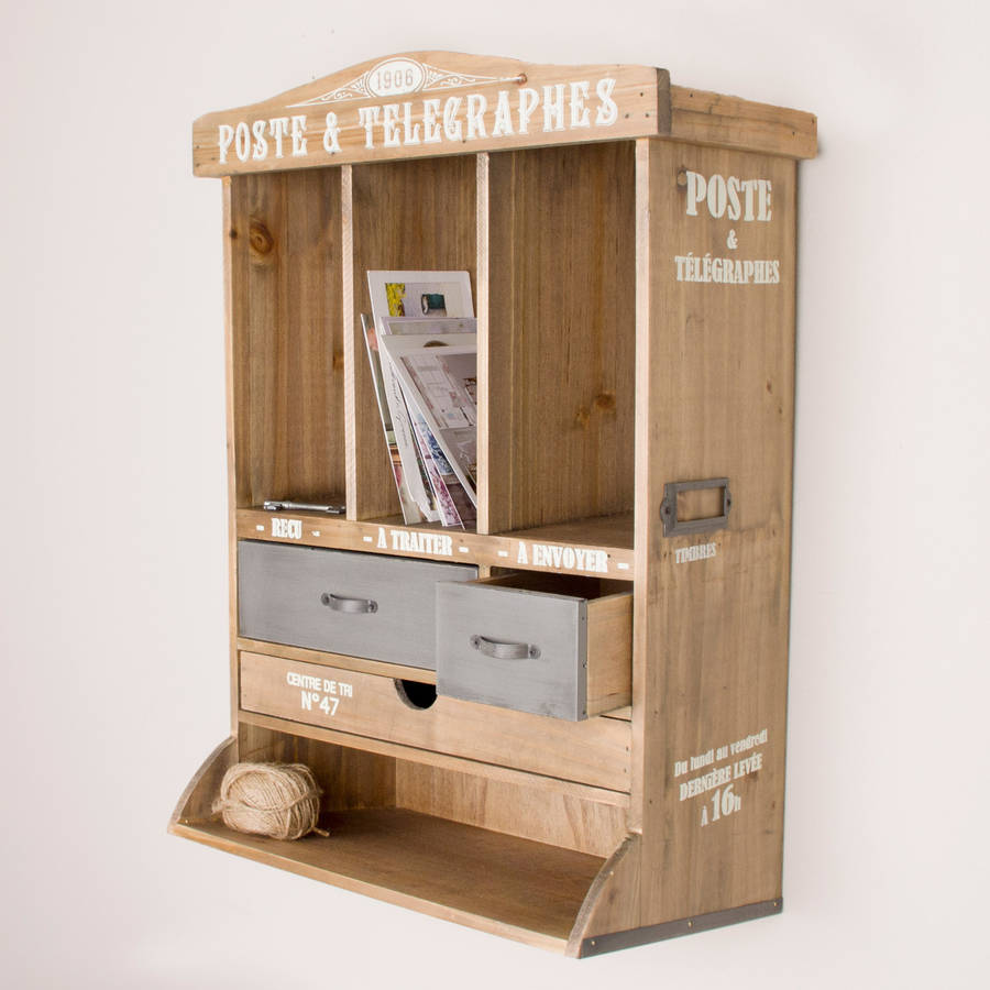 wooden hallway storage cabinet by dibor