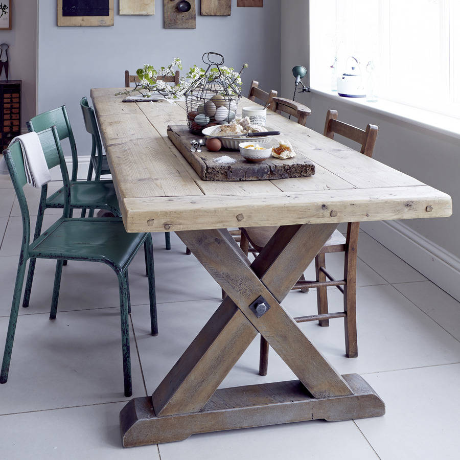 Reclaimed Timber Country Dining Table By Home Barn