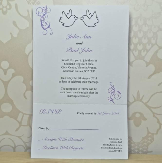 Modern Chinese Wedding Invitation With Pea Dress Design Cw501