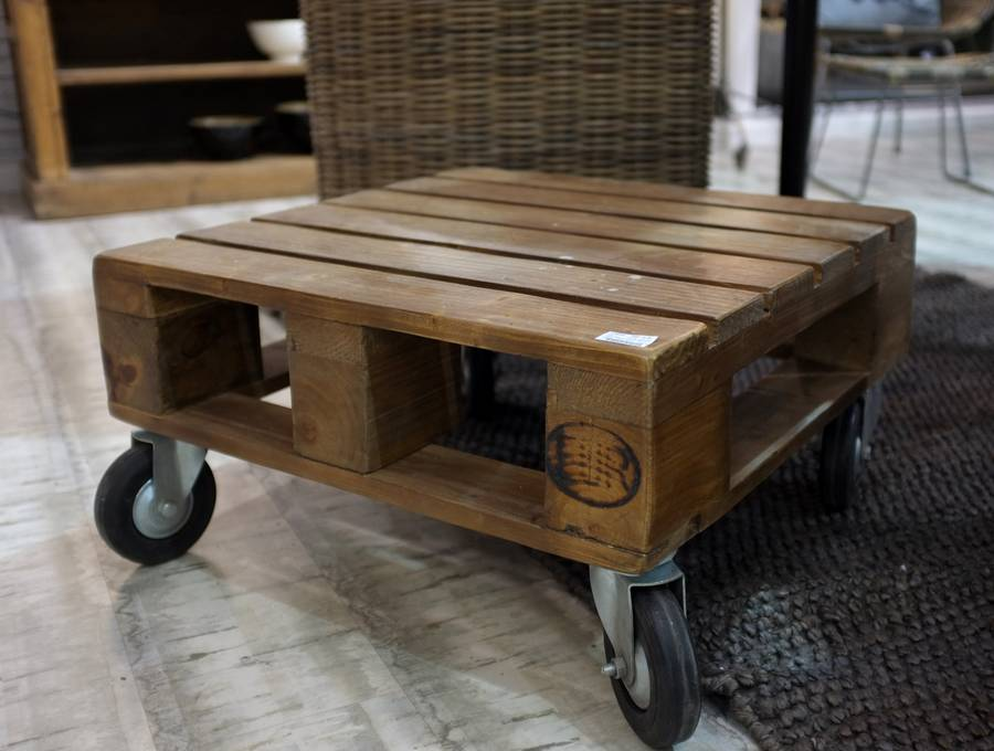 pallet coffee table by cambrewood  notonthehighstreetcom
