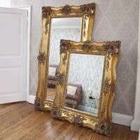 vintage ornate gold decorative mirror by decorative ...