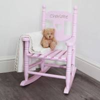 personalised child's rocking chair by my 1st years ...