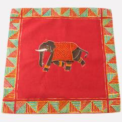 Kitchen Cushion Covers Unfinished Cabinets Indian Inspired Elephant Cover By Spice