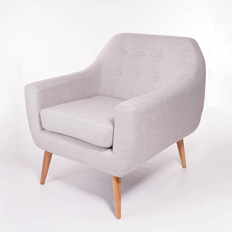 light grey chair bamboo side ralph armchair by stuhl notonthehighstreet com