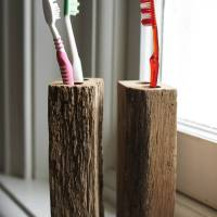 oak toothbrush holder by brush64 | notonthehighstreet.com