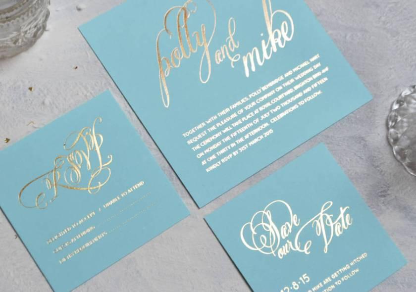 Script Wedding Stationery Set Sold Separately