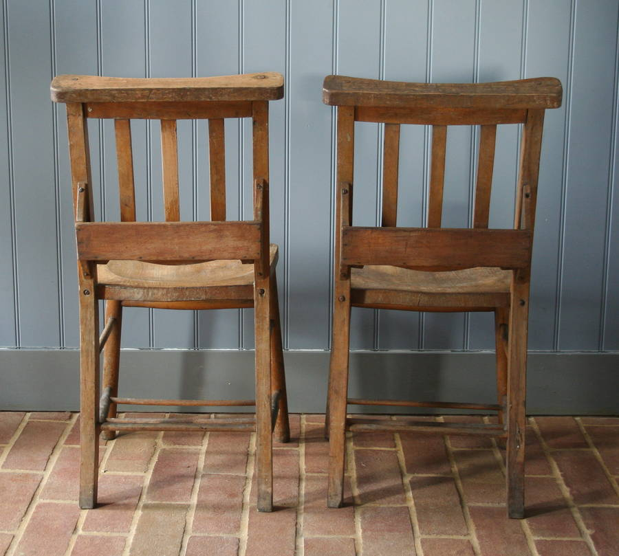 wooden church chairs by homestead store