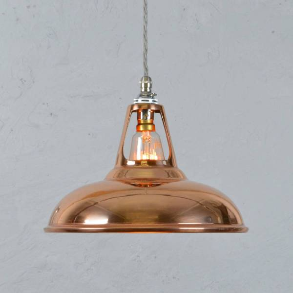 Copper Industrial Light Pendants