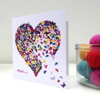 special mum or special mam kaleidoscope butterfly card by ...