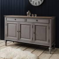 Pin Painted-white-sideboard-4-door-drawer-kristina-pine ...