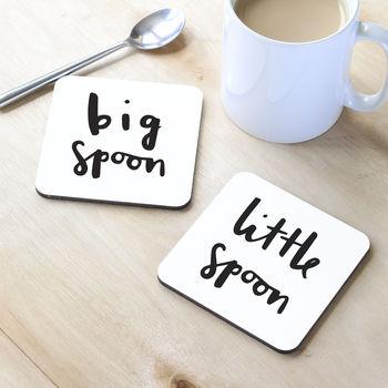 Spooning Coasters
