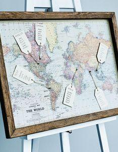 Map wedding table plan plans also notonthehighstreet rh