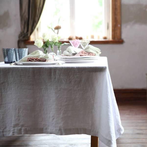 Stonewashed LinenTablecloth
