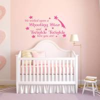 baby's nursery quote wall sticker by mirrorin ...