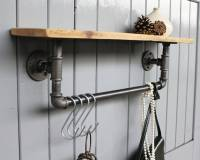 industrial steel pipe storage shelf by industrial by ...