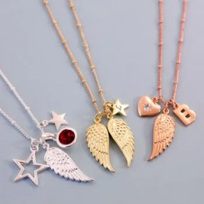 Design Your Own Angel Wing Necklace cheap gift ideas for teen girls