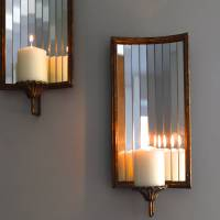 venetian wall candle holder by the forest & co