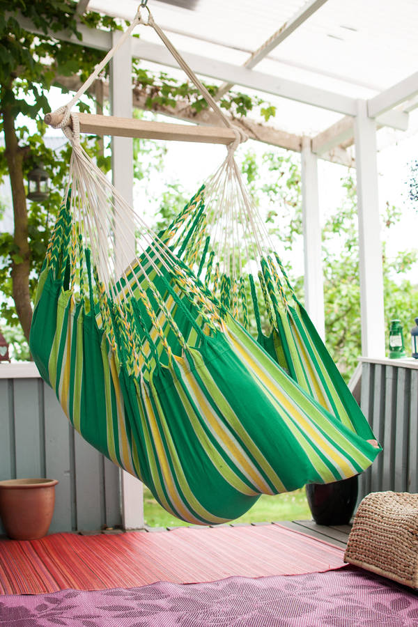 hanging chair notonthehighstreet monitor stand cayo lime by emilyhannah ltd com