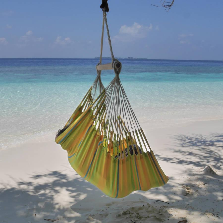 hanging chair notonthehighstreet ghost rental iguana lemon by emilyhannah ltd com