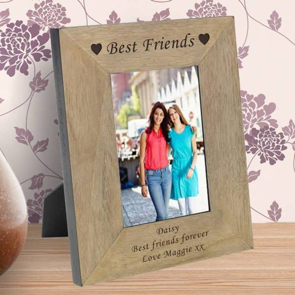 Friends Personalised Frame Chalk And Cheese Candles Wax Melts