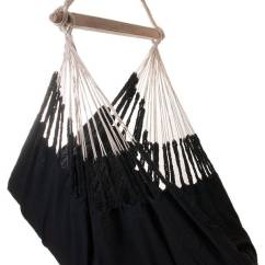 Hanging Chair Notonthehighstreet Commercial Folding Chairs Knit Black Cotton By Emilyhannah Ltd